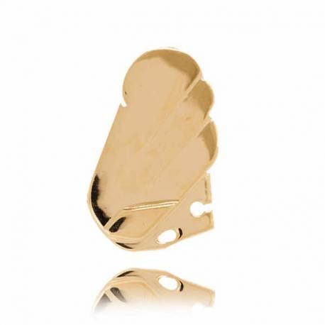 Złoty znak zodiaku Z4 LEW