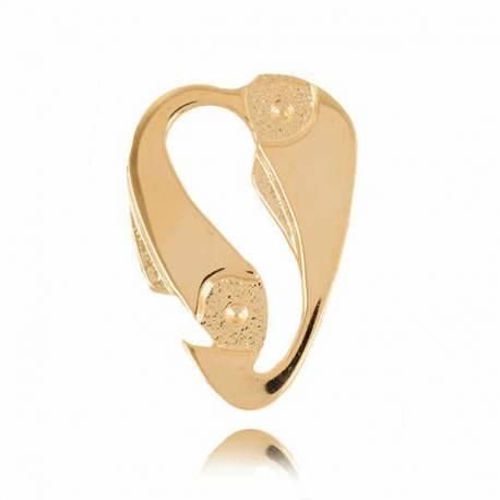 Złoty znak zodiaku Z4 RYBY