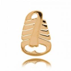 Złoty znak zodiaku Z4 SKORPION