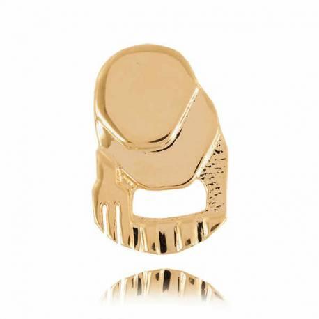 Złoty znak zodiaku Z4 WODNIK