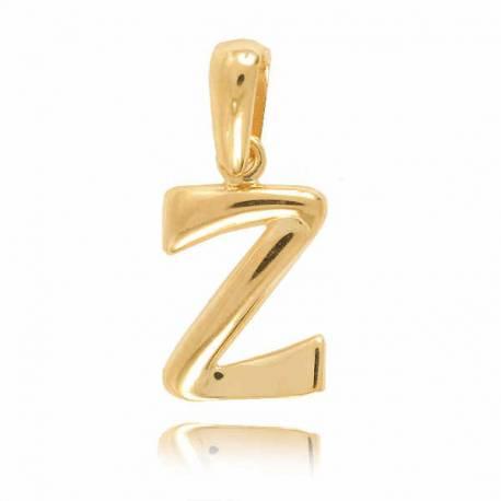 Wisiorek,złota literka Z