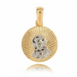 Złoty medalik M2