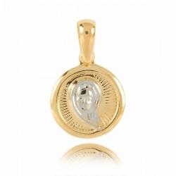 Złoty medalik M4
