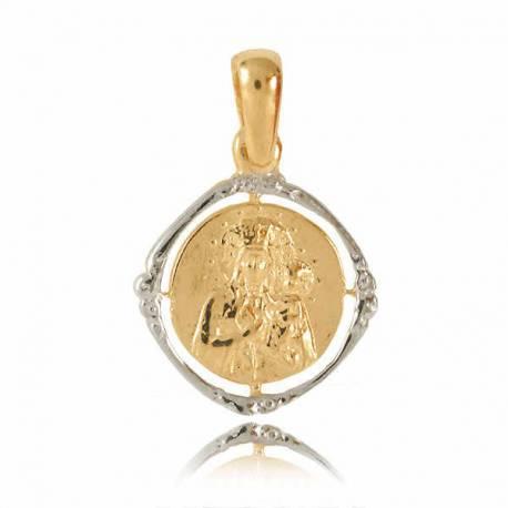 Złoty medalik M5