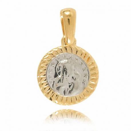 Złoty medalik M15