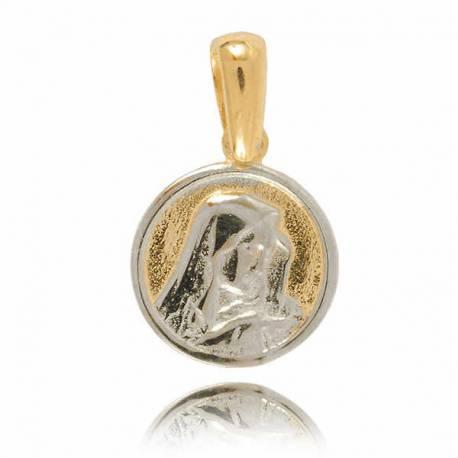 Złoty medalik M16