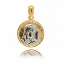Złoty medalik M17