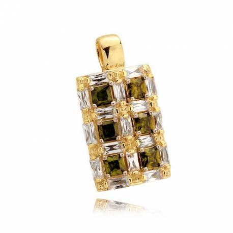 Złoty wisiorek N339W