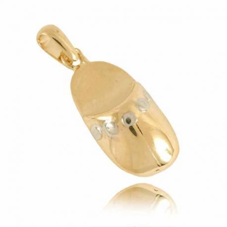 Złoty wisiorek W11