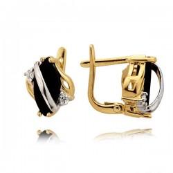 Złote kolczyki N324K