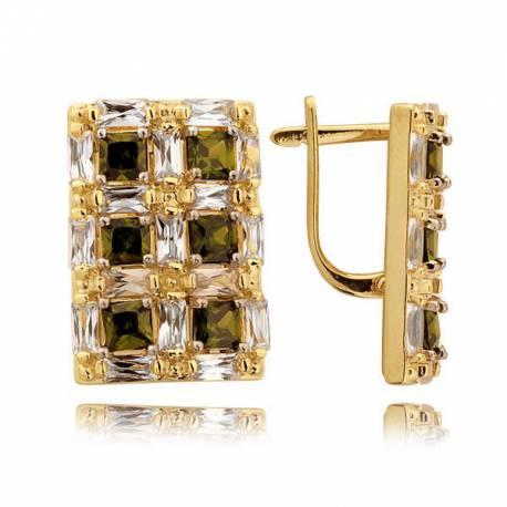 Złote kolczyki N339K