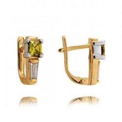 Złote kolczyki N375K