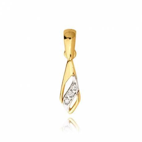 Złoty wisiorek KB29W