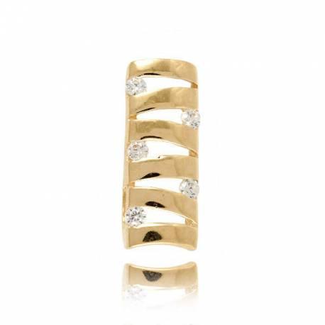 Złoty wisiorek W90