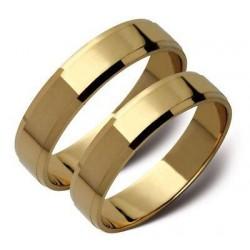 Złote obrączki, białe lub zółte ST20