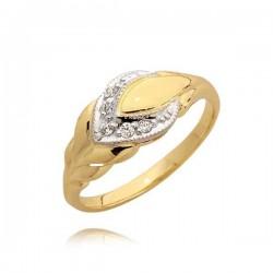 Złoty pierścionek N35