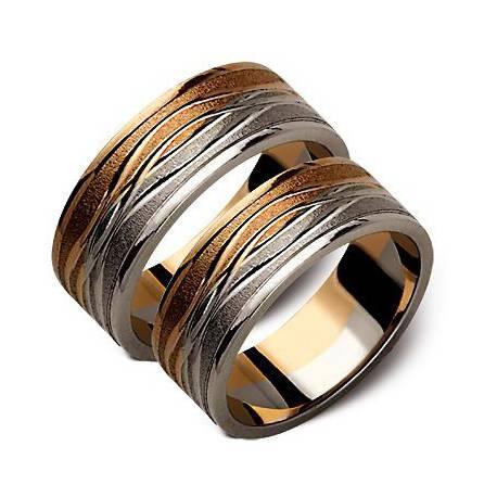 Złote obrączki 6mm ST134