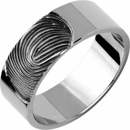 Złote obrączki odcisk palca możliwość oryginału ST198