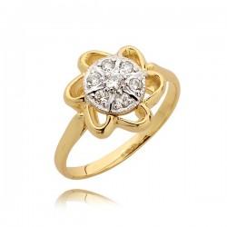 Przepiękny pierścionek zareczynowy
