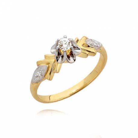Delikatny pierścionek