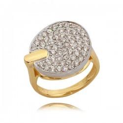 Złoty pierścionek N297