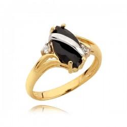 Złoty pierścionek N324