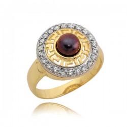 Złoty pierścionek N326