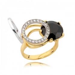Złoty pierścionek N335