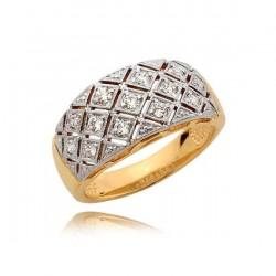 Złoty pierścionek N362