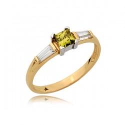 Złoty pierścionek N375