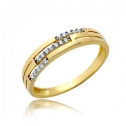 Damski złoty pierścionek P1889