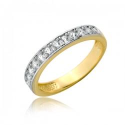 Anielski złoty pierścionek P1894