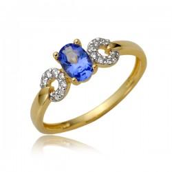 Kolosty pierścionek damski P1883