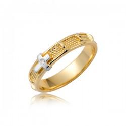 Złoty pierścionek P1865