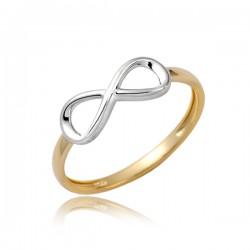 Złoty pierścionek P1860