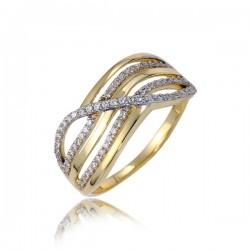 Uroczy damski pierścionek P1844