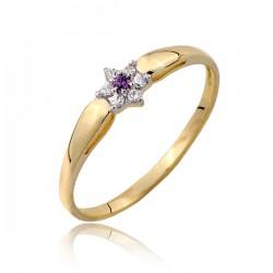 Złoty pierścionek P1808