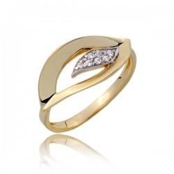 Damski złoty pierścionek P1801