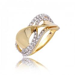 Damski pierścionek złoty P1786