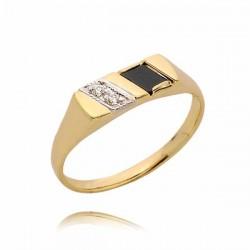 Pierścionek złoty PB31