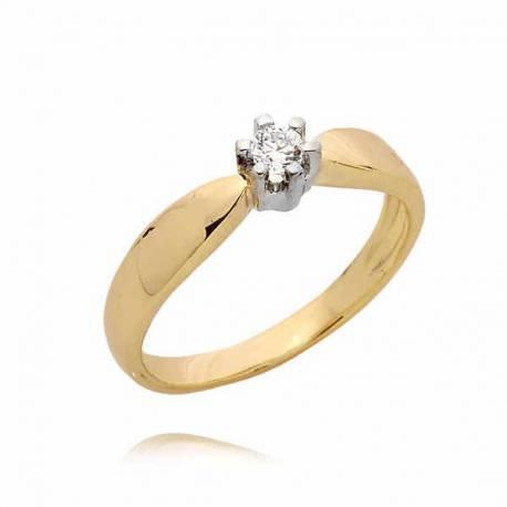Złoty pierścionek PB50