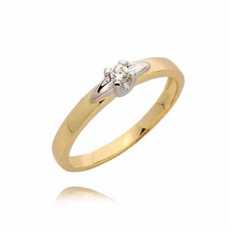 Złoty pierścionek PB51