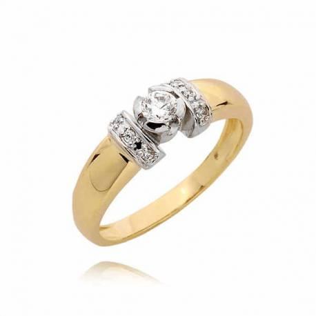 Złoty pierścionek PB52