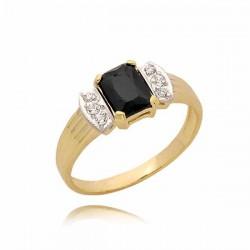 Złoty pierścionek PB69