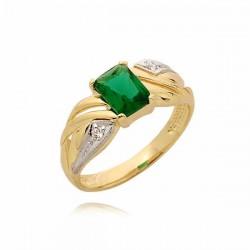 Złoty pierścionek PB70