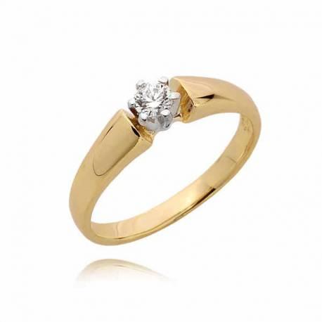 Złoty pierścionek PB75