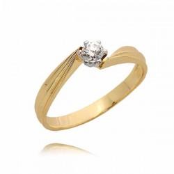 Złoty pierścionek PB77