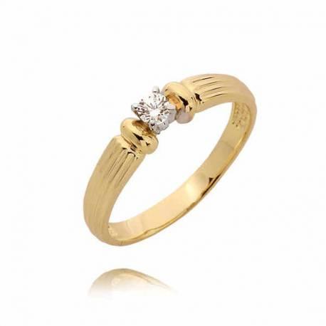 Złoty pierścionek PB80