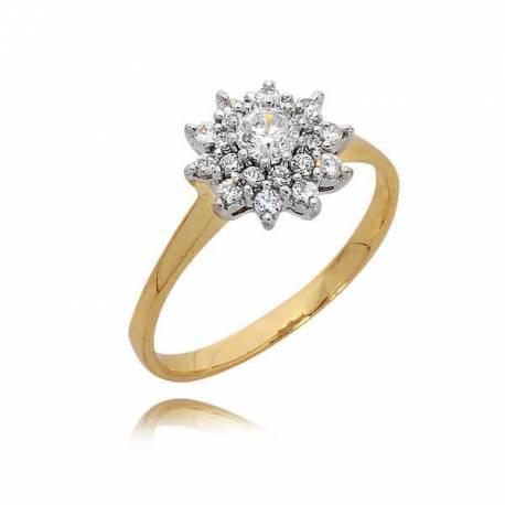 Złoty pierścionek PB83
