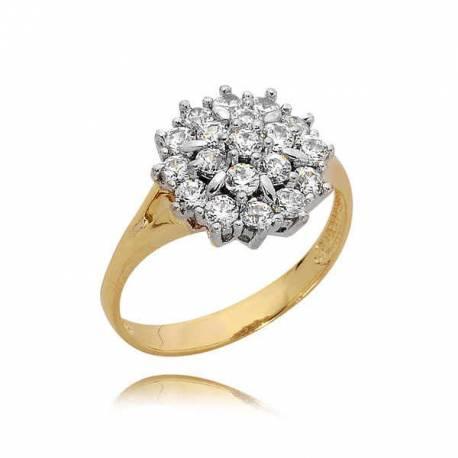 Złoty pierścionek PB84